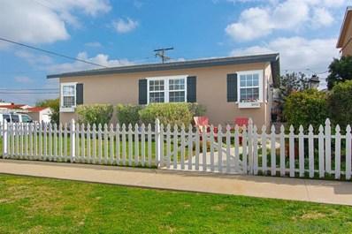 3993 Kendall St, San Diego, CA 92109 - MLS#: 190015206