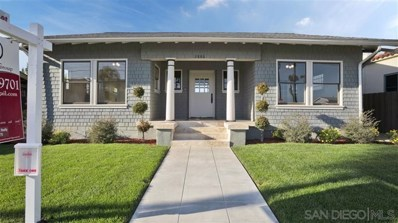 2886 Redwood St, San Diego, CA 92104 - MLS#: 190015337