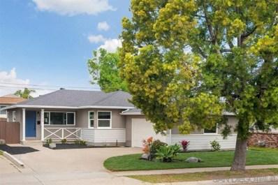 5368 Waring Rd, San Diego, CA 92120 - MLS#: 190015505