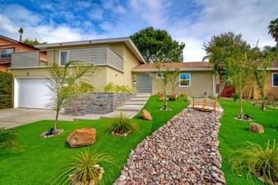6145 Haas St, La Mesa, CA 91942 - MLS#: 190015548