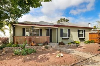 2606 Boundary St, San Diego, CA 92104 - MLS#: 190018054