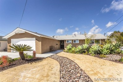 6344 Mount Adelbert Dr, San Diego, CA 92111 - #: 190018664