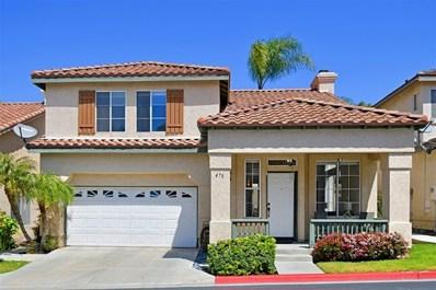 476 BLUE SAGE WAY, Oceanside, CA 92057 - MLS#: 190019604