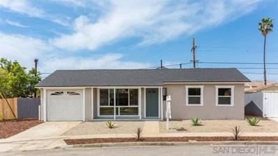 4508 Cochise Way, San Diego, CA 92117 - MLS#: 190019869