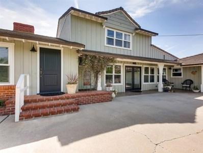 1608 Prince St, Fallbrook, CA 92028 - MLS#: 190020670