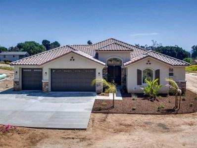 1815 Marita Ln, Fallbrook, CA 92028 - MLS#: 190021969