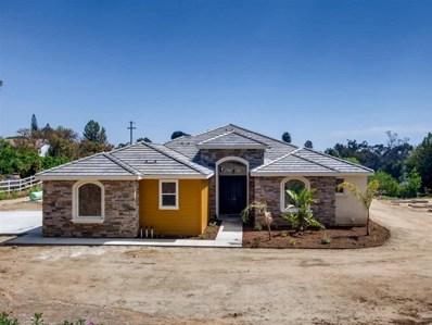 1827 Marita Ln, Fallbrook, CA 92028 - MLS#: 190021970