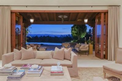 6335 Calle Ponte Bella, Rancho Santa Fe, CA 92091 - MLS#: 190022083