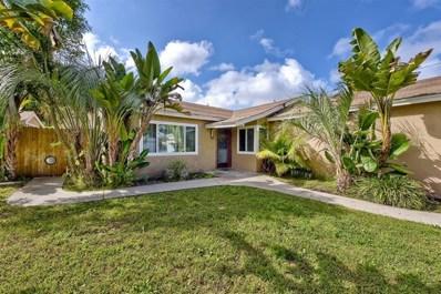 3259 Roberta Ln, Oceanside, CA 92054 - MLS#: 190027503