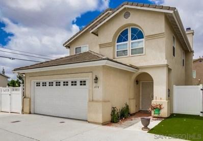 430 Hart Dr, El Cajon, CA 92021 - MLS#: 190028021