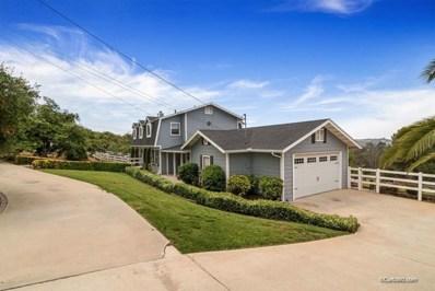 3609 Alta Vista, Fallbrook, CA 92028 - MLS#: 190029922