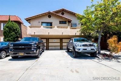 4541 Utah St UNIT 1, San Diego, CA 92116 - MLS#: 190030400