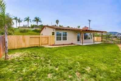 9205 Rickie Rd, Lakeside, CA 92040 - MLS#: 190031707