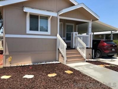 260 E Bradley Ave UNIT 31, El Cajon, CA 92021 - MLS#: 190031739