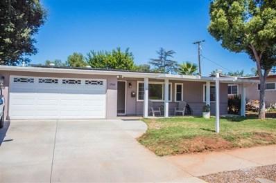 1760 Poinciana Drive, El Cajon, CA 92021 - MLS#: 190035859