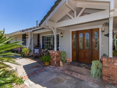 1187 Via Encinos, Fallbrook, CA 92028 - MLS#: 190035887