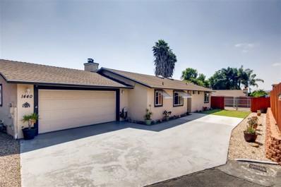 1440 N Fig, Escondido, CA 92026 - MLS#: 190038449