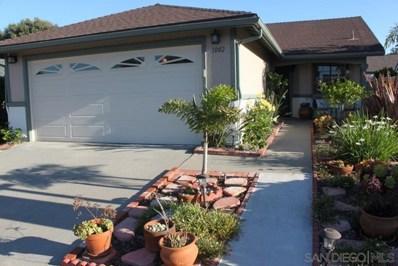 1002 Concord Ct, Vista, CA 92081 - MLS#: 190039130