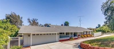 509 Verde Avenue, Fallbrook, CA 92028 - MLS#: 190039984