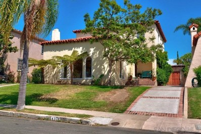 4375 Ampudia St, San Diego, CA 92103 - MLS#: 190041482