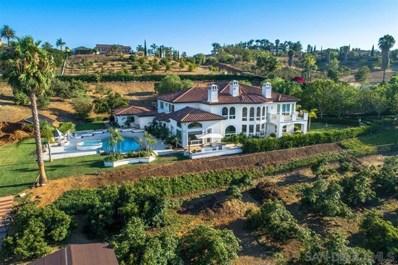6129 Villa Medici, Bonsall, CA 92003 - MLS#: 190042807