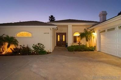4826 La Cruz Drive, La Mesa, CA 91941 - MLS#: 190042954