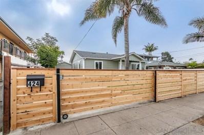 424 Grant St, Oceanside, CA 92054 - MLS#: 190042976
