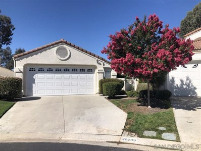 40203 Corte Lorca, Murrieta, CA 92883 - MLS#: 190046051