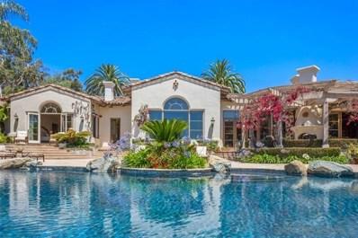 7057 Rancho Cielo, Rancho Santa Fe, CA 92067 - MLS#: 190046804