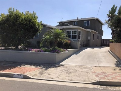 2043 Venice Street, San Diego, CA 92107 - MLS#: 190048006