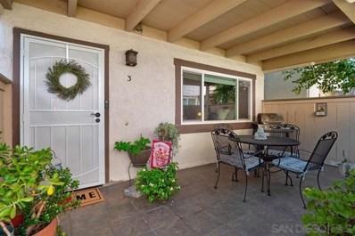 9813 Caspi Gardens Dr UNIT 3, Santee, CA 92071 - #: 190049354