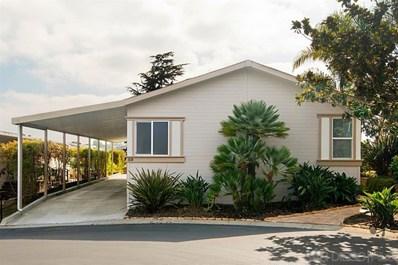 444 N El Camino Real UNIT 58, Encinitas, CA 92024 - MLS#: 190050487