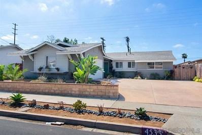 4533 Conrad, San Diego, CA 92117 - MLS#: 190050651