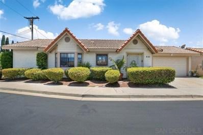 820 Cherrywood Way, El Cajon, CA 92021 - MLS#: 190051129