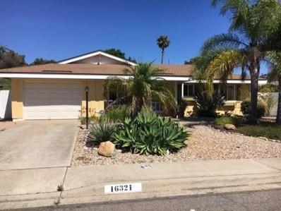 16321 Sarape Drive, San Diego, CA 92128 - MLS#: 190051549