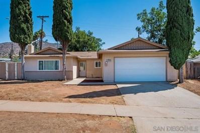 1777 Plumeria Drive, El Cajon, CA 92021 - MLS#: 190052074