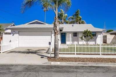 4912 Roja Dr, Oceanside, CA 92057 - MLS#: 190052145