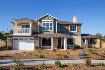 1610 Buena Vista Way, Carlsbad, CA 92008 - MLS#: 190053098