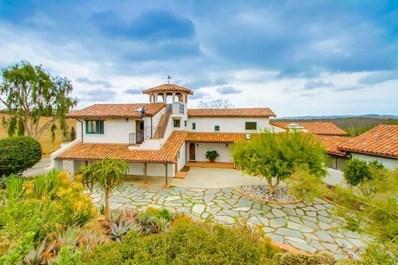 5910 Camino Baja Cerro, Fallbrook, CA 92028 - MLS#: 190053636