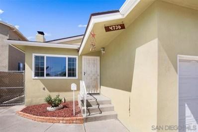 4736 Filipo St, San Diego, CA 92115 - MLS#: 190054039