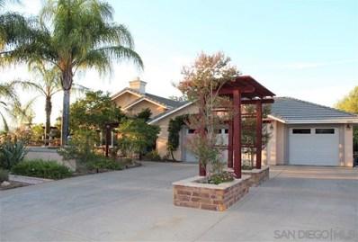 1013 Tesla Lane, Fallbrook, CA 92028 - MLS#: 190054121