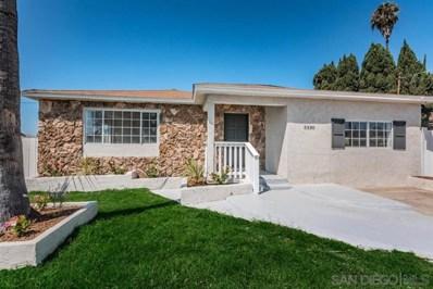 5330 Bonita Dr, San Diego, CA 92114 - MLS#: 190054435