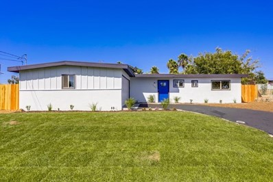 1321 Bluegrass Rd, Vista, CA 92083 - MLS#: 190054742