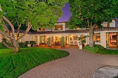 7187 Via De Maya, Rancho Santa Fe, CA 92067 - MLS#: 190054951