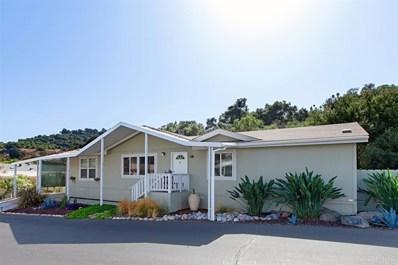 3909 Reche UNIT 16, Fallbrook, CA 92028 - MLS#: 190056060