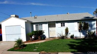 5161 Ewing, San Diego, CA 92115 - MLS#: 190056104