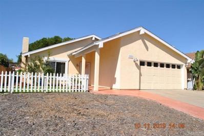 1353 Cerritos, Chula Vista, CA 91910 - MLS#: 190056261