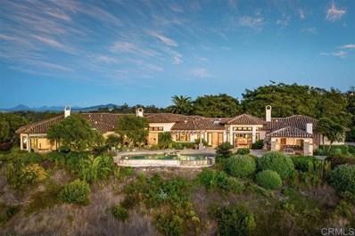4888 El Nido, Rancho Santa Fe, CA 92067 - MLS#: 190056924