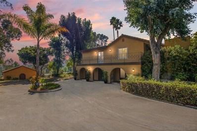 244 Rancho Camino, Fallbrook, CA 92028 - MLS#: 190057054