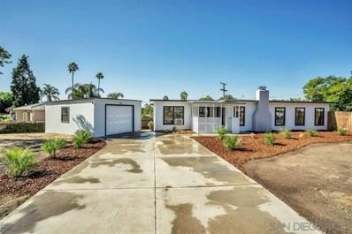 580 Silvery Ln, El Cajon, CA 92020 - MLS#: 190057128